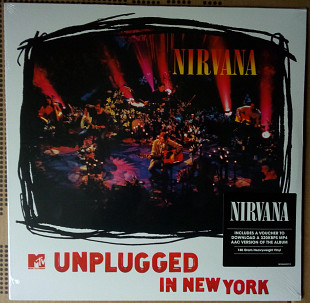 Nirvana - MTV Unplugged In New York 1994(2017) (SEALED)