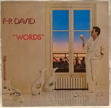F.R. David (Words) 1982. (LP). 12. Vinyl. Пластинка. Germany.