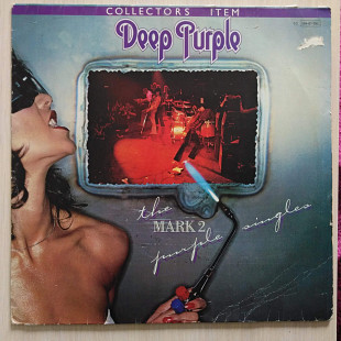 Deep Purple – The Mark 2 Purple Singles\Harvest–1C 064-61 695\LP\Compilation\Germany\1979\VG\VG