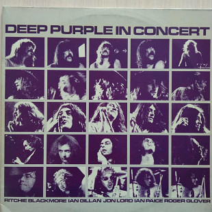 Deep Purple – In Concert \Harvest – 1C 164-64 156/7 \ 2xLP\Gatefold \ Germany \ 1980 \ VG+\VG+
