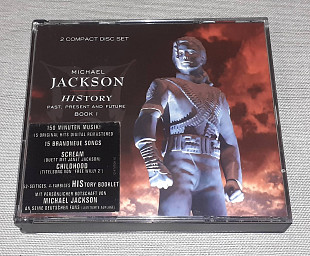 Фирменный Michael Jackson - HIStory - Past, Present And Future - Book I