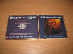 FLOTSAM & JETSAM - No Place For Disgrace (1988 Elektra, 1st press, NO BARCODE, USA