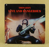 Thin Lizzy ‎– Live And Dangerous (Англия, Vertigo)
