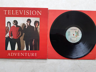 TELEVISION ( POST - PUNK , NEW WAVE ) ADVENTURE ( ELEKTRA BIG BUTERFLY 52072 ) 1978 FRANC