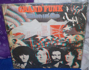 Grand Funk Railroad - 1974 Shinin'On, со вставкой, Capitol, USA.