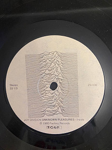 Joy Division ‎– Unknown Pleasures LP Zona Records