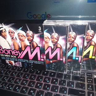BONEY M ''DIE PARTY BOX''3 CD