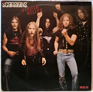 Scorpions - Virgin Killer - 1976. (LP). 12. Vinyl. Пластинка. Germany. Оригинал