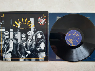 THE CROSS ( ROGER TAYLOR - QUEEN ) SHOVE IT ( VIRGIN V 2477 A1/B1 ) 1987 UK