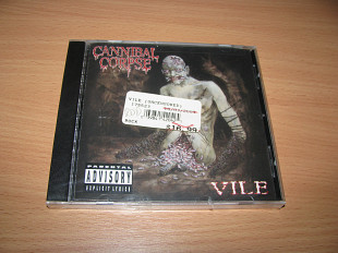 CANNIBAL CORPSE - Vile (1996 Metal Blade USA UNCENSORED 1st press)