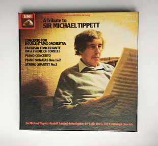 A Tribute To Sir Michael Tippett. Box 2 кассеты