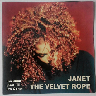 CD диск - Janet Jackson - The Velvet Rope -1997 Virgin Records