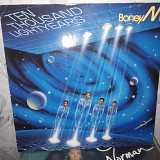 BONEY M''TEN THOUSAND LIGHTYEARS''LP