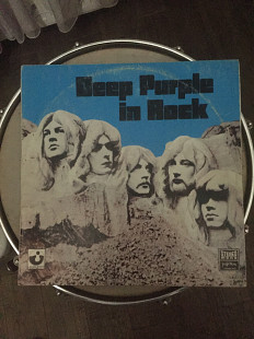 Deep Purple in rock EX/EX, б/в, released-1970 югославія
