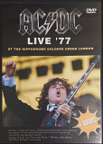 AC/DC- LIVE '77: At The Hippodrome Golders Green London