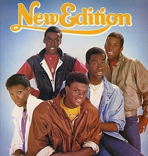 NEW EDITION (BOBBY BROWN ) New Edition 1984 USA MCA запечатан