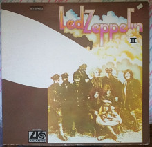 Пластинка Led Zeppelin II (Atlantic ‎– SD 8236, 1969, USA)