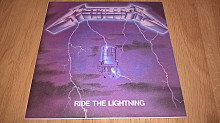 Metallica (Ride The Lightning) 1984. (LP). 12. Vinyl. Пластинка. M (Mint) Новая. Неигранная.