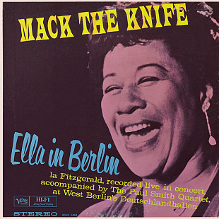 ELLA FITZGERALD Mack The Knife-Ella In Berlin 1960(2016) Ger Verve Запечатан