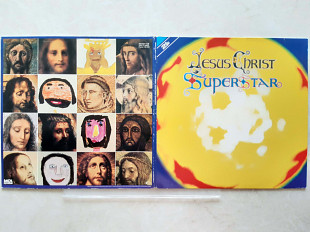 JESUS CHRIST SUPERSTAR ( with Gillan ) JESUS CHRIST SUPERSTAR 2LP ( MCA 250 431 - 1 ) with GIG