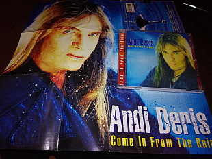 "Andi Deris ( Helloween) ""Come in from the Rain"" 1997 фирменный CD."