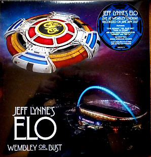 JEFF LYNNE'S ELO Wembley Or Bust (3LP) 2017 EU Columbia M\M\M\M 3xOIS\Sticker