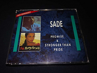 "Sade ""Promise & Stronger Than Pride"" фирменный CD Austria."