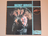 Secret Service - Cutting Corners (Sonet ‎– SLP-2710, Sweden) insert NM-/NM-