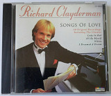 CD диск - Richard Clayderman _ Songs of Love - Dilphine Records 1997