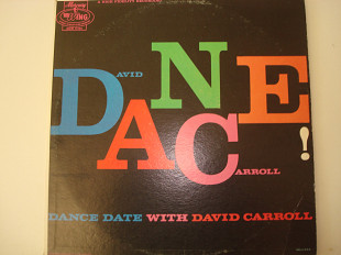 DAVID CARROLL AND HIS ORCHESTRA- Dance date USA Easy Listening, Instrumental