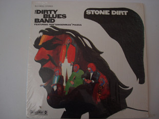 "DIRTY BLUES BAND- Featuring Rod ""Gingerman"" Piazza* ‎– Stone Dirt-Stone dirt 1968 USA Electric Blue"