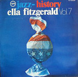 Ella Fitzgerald – Jazz History Vol. 7, 2 LP (1-st press)
