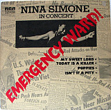 Nina Simone – In Concert - Emergency Ward! (US, 1-st press)