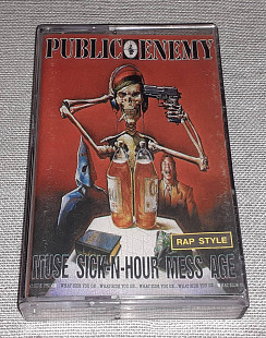 Кассета Public Enemy - Muse Sick-N-Hour Mess Age