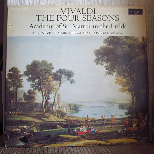 Vivaldi, Academy Of St. Martin-in-the-Fields, Neville Marriner, Alan Loveday ‎– The Four Seasons