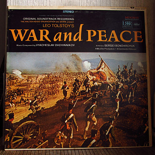 Vyacheslav Ovchinnikov ‎– War And Peace - Original Soundtrack Recording