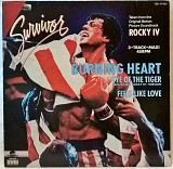Stallone / Сталлоне - Rocky-IV. Burning Heart - 1985. (EP) 12. Vinyl. Пластинка. Germany.