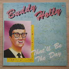 "Новая пластинка Buddy Holly ""That'll Be the Day"""