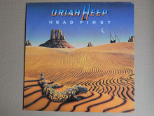 Uriah Heep ‎– Head First (Bronze ‎– BRZ 20362, Italy) NM-/NM-