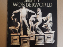 Uriah Heep ‎– Wonderworld (Bronze ‎– 87 931 XOT, Germany) insert EX+/EX+