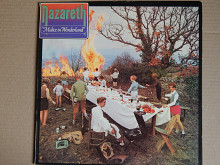 Nazareth ‎– Malice In Wonderland (Vertigo ‎– 6370 432, Spain) insert EX+/NM-