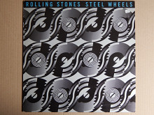 The Rolling Stones ‎– Steel Wheels (Rolling Stones Records ‎– CBS 465752-1, Holland) insert NM-/NM-