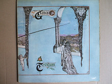 Genesis ‎– Trespass (Charisma ‎– CAS 1020, Scroll Label, UK) insert EX/EX(+)