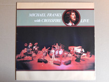 Michael Franks With Crossfire ‎– Live (Warner Bros. Records ‎– WB 56 922, Germany) NM-/EX+