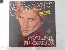 Rod Stewart ‎– Foolish Behaviour (Warner Bros. Records ‎– WB 56 865, Germany) insert NM-/NM-