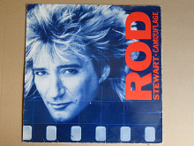 Rod Stewart ‎– Camouflage (Warner Bros. Records ‎– 925 095-1, Germany) insert EX+/EX+