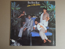 Bad Boys Blue ‎– Love Is No Crime (Seoul Records, Inc. ‎– SOPR-035, South Korea) insert NM-/NM-