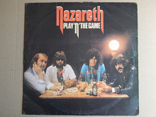 Nazareth ‎– Play'n' The Game (Mountain ‎– TOPS 113, UK) EX/EX