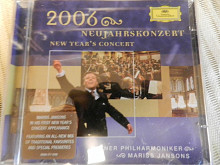 "WIENER PHILARMONIKER - MARISS JANSONS "" New year 2006 concert "" ( 2 CD )"