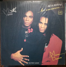 Пластинка Milli Vanilli - All or nothing Состояние! Mint Как Новая!